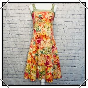 Madison Leigh Tropical Sundress in Size 10